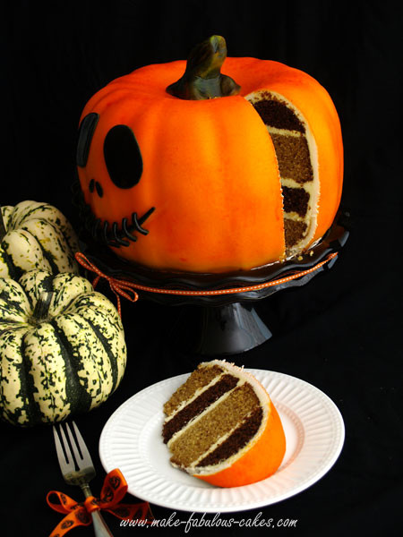 Halloween Pumpkin Cake  Pumpkin Cake