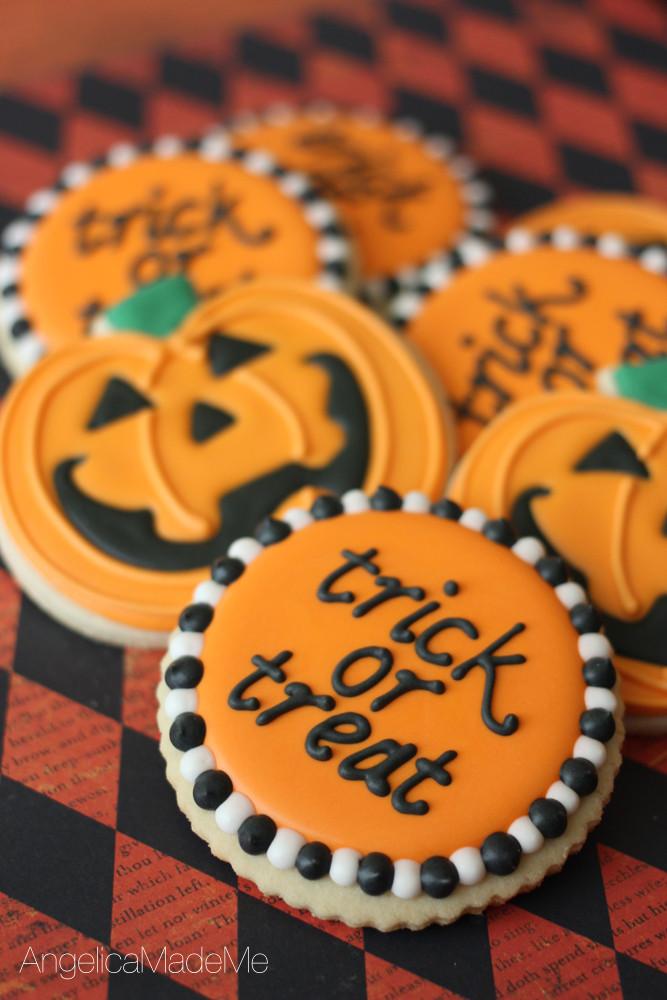 Halloween Pumpkin Cookies  cookies Archives AngelicaMadeMeAngelicaMadeMe