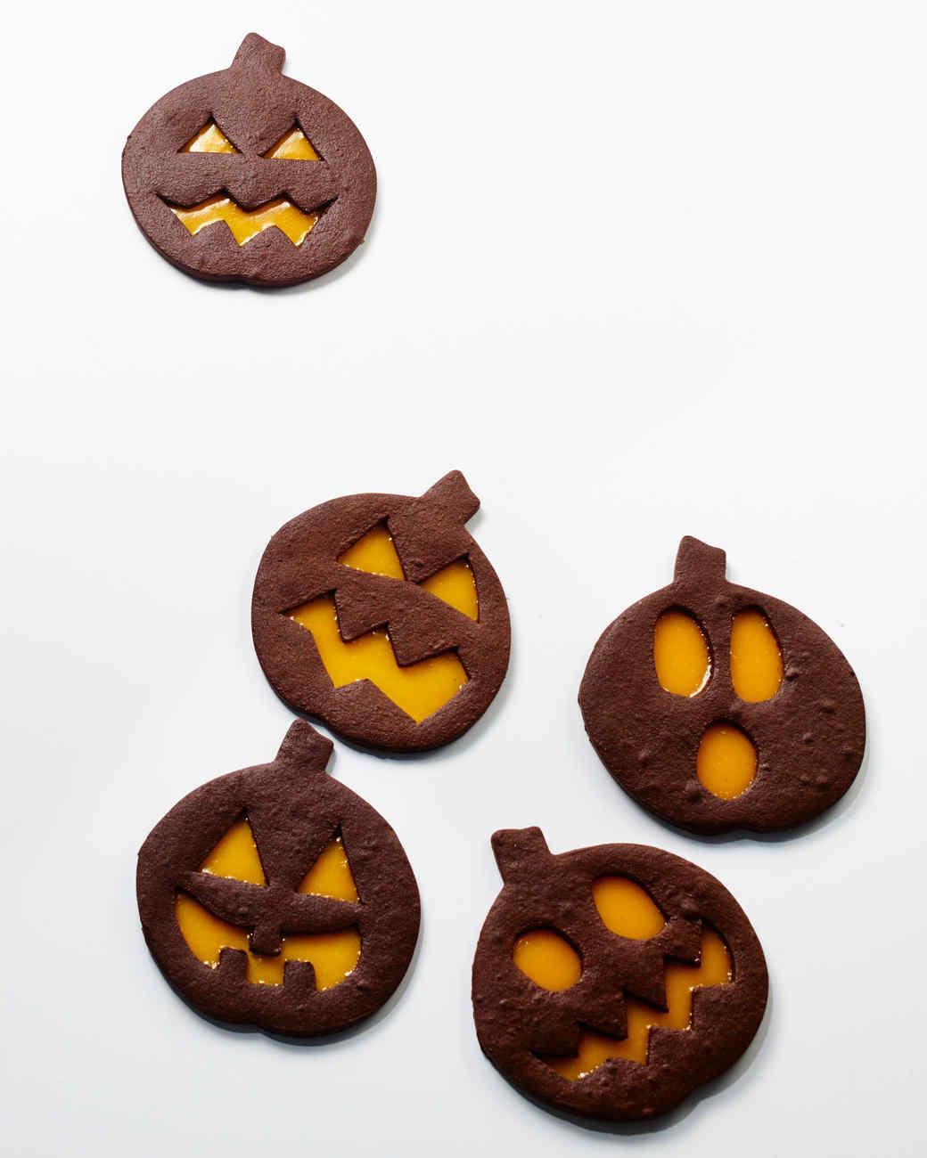 Halloween Pumpkin Cookies  Our Cutest Halloween Party Recipes
