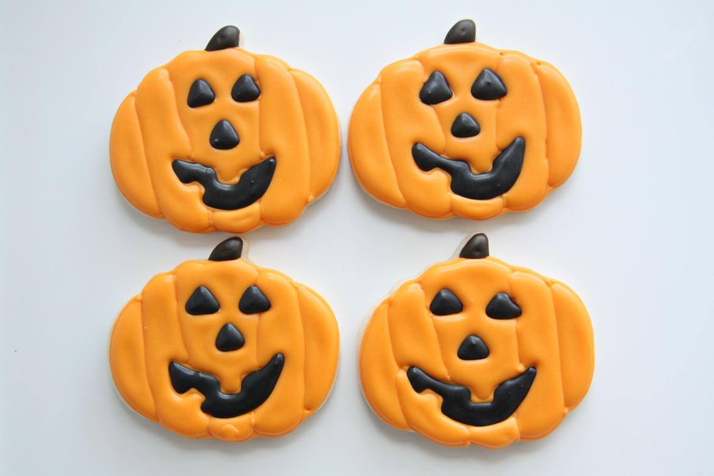 Halloween Pumpkin Cookies  Halloween