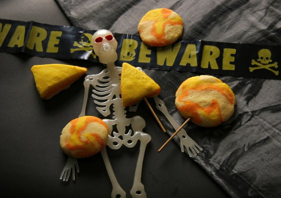 Halloween Shortbread Cookies  Halloween Shortbread Swirl Cookies sugar free Dessert