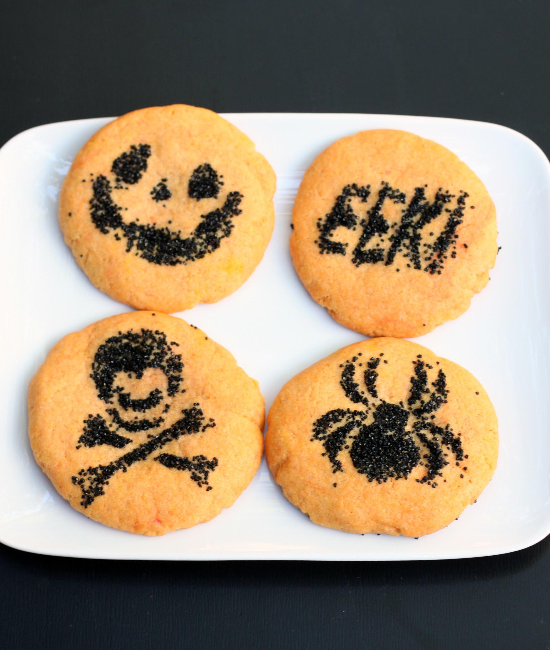 Halloween Sugar Cookies Recipes  Simple Halloween Sugar Cookies