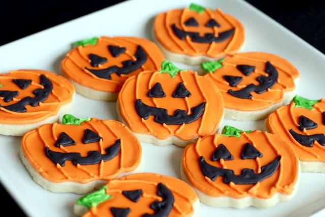 Halloween Sugar Cookies Recipes  f Grid Home Sweet Home Halloween Sugar Cookie Cutouts…