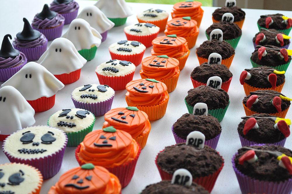Halloween Themed Cupcakes  Cupcakes in Kildare Kildare Treats