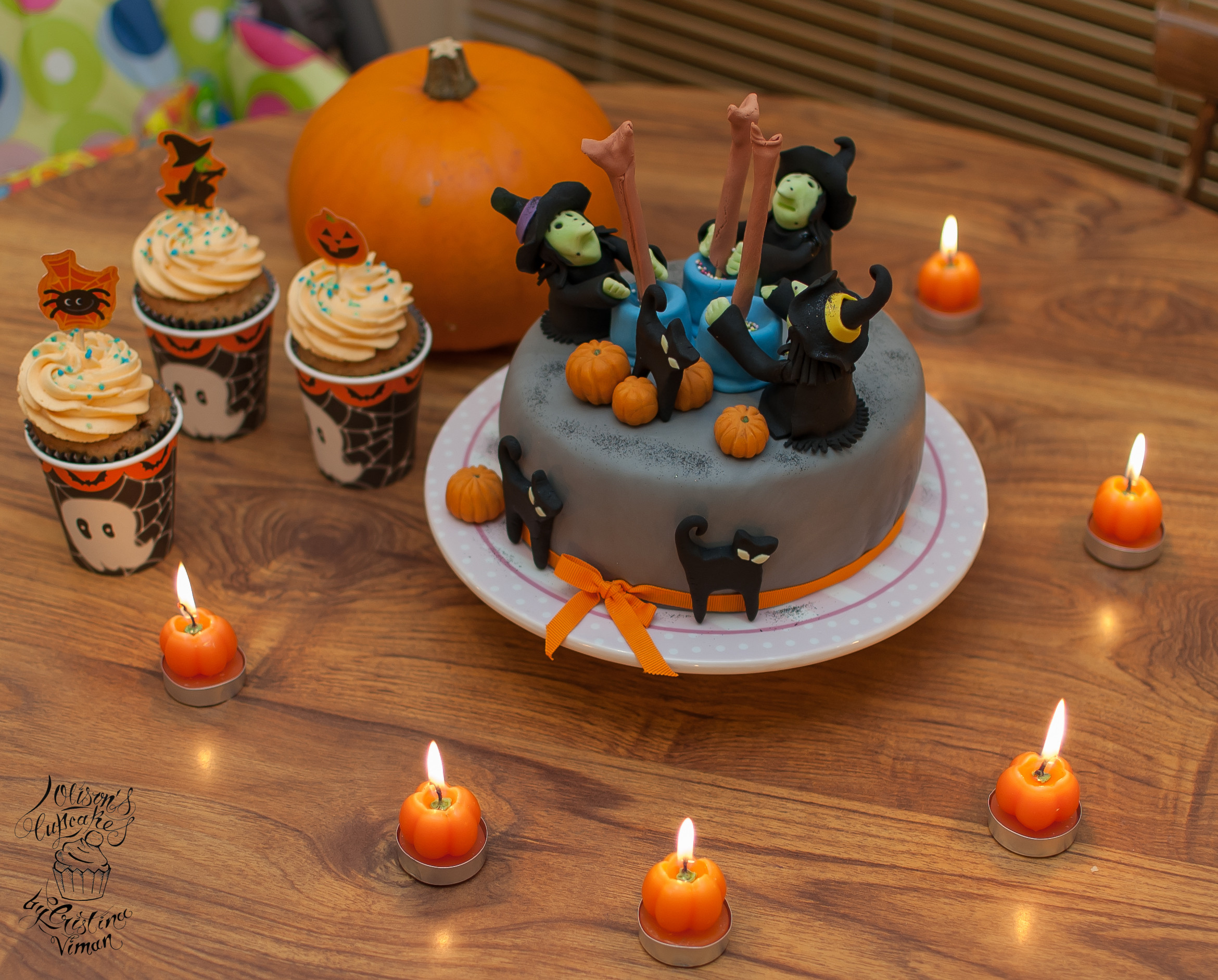 Halloween Themed Cupcakes  Halloween Wicked Witches Cake and Cupcakes – Olison s Cupcakes
