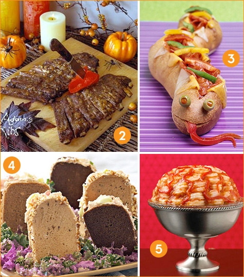 Halloween Themed Dinners  Creative Halloween Dinner Ideas Hostess with the Mostess