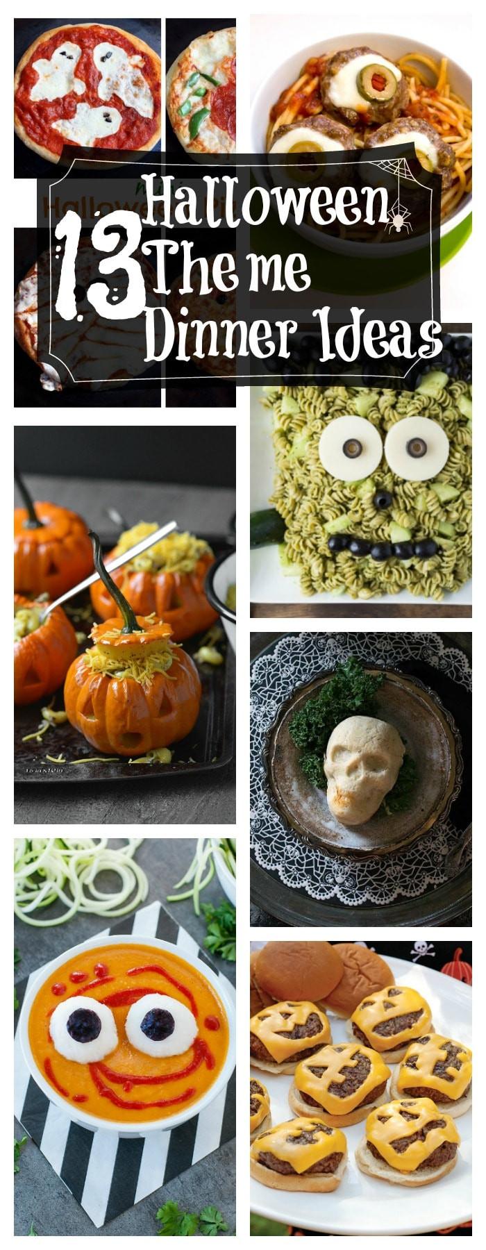 Halloween Themed Dinners  13 Healthy Halloween Themed Dinner Ideas
