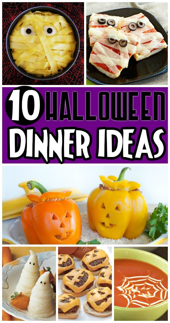 Halloween Themed Dinners  50 FUN Halloween Foods Halloween Themed Food for Every Meal