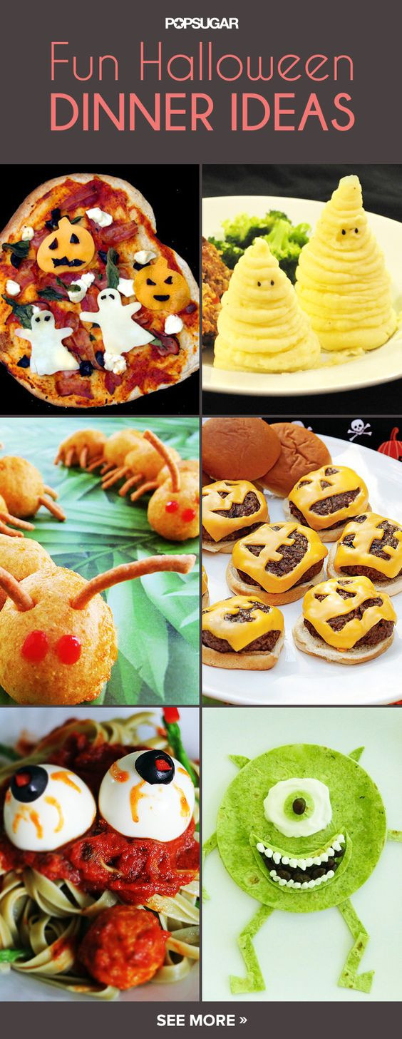 Halloween Themed Dinners  Children s Classic