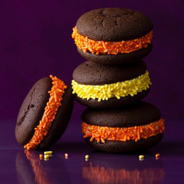 Halloween Whoopie Pies  tarateaspoon • Live Your Life Deliciously