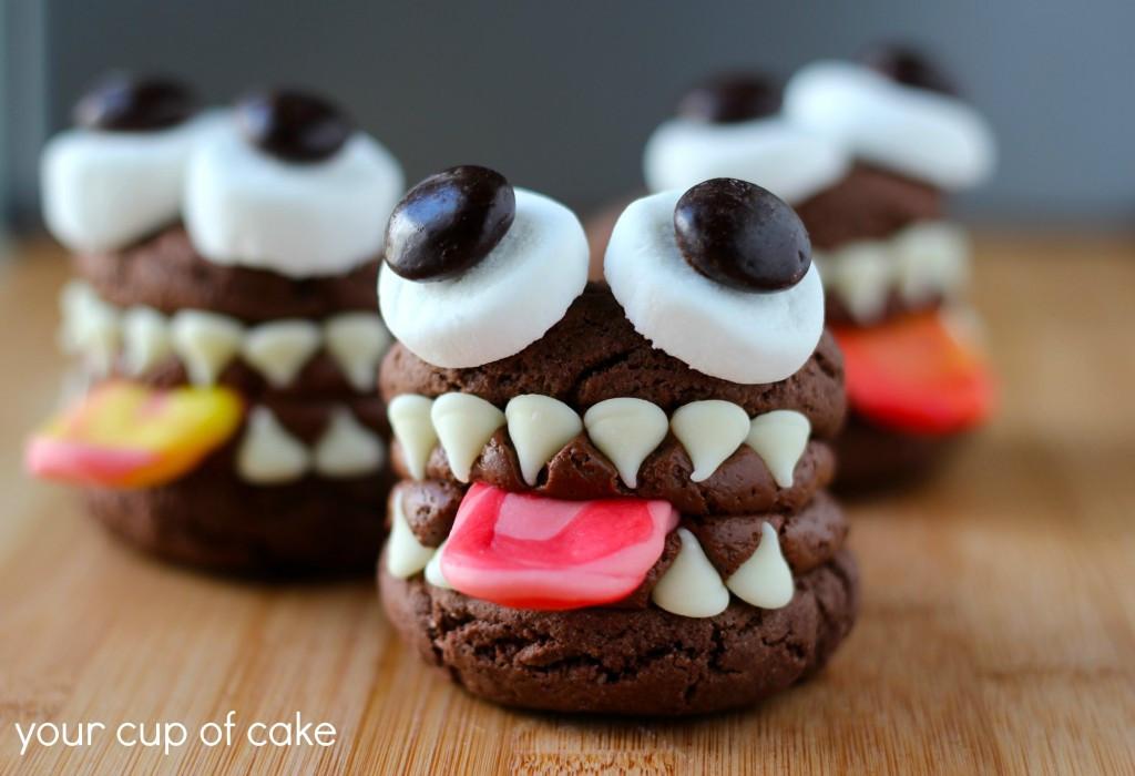 Halloween Whoopie Pies  Monster Whoopie Pies Your Cup of Cake
