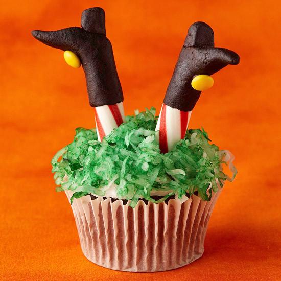 Halloween Witch Cupcakes  50 Halloween Treats