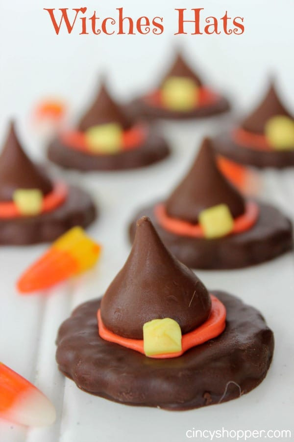 Halloween Witches Hats Cookies  12 Halloween Crafts and Recipes