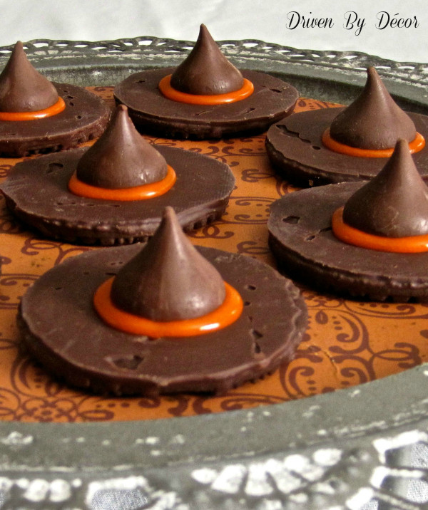 Halloween Witches Hats Cookies  DRIVEN BY DECOR MY FAVORITE 5 Dimples and Tangles
