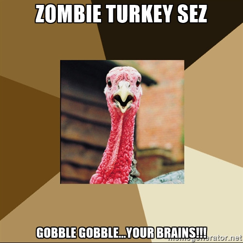 Happy Thanksgiving Jive Turkey  Speak of the Devil