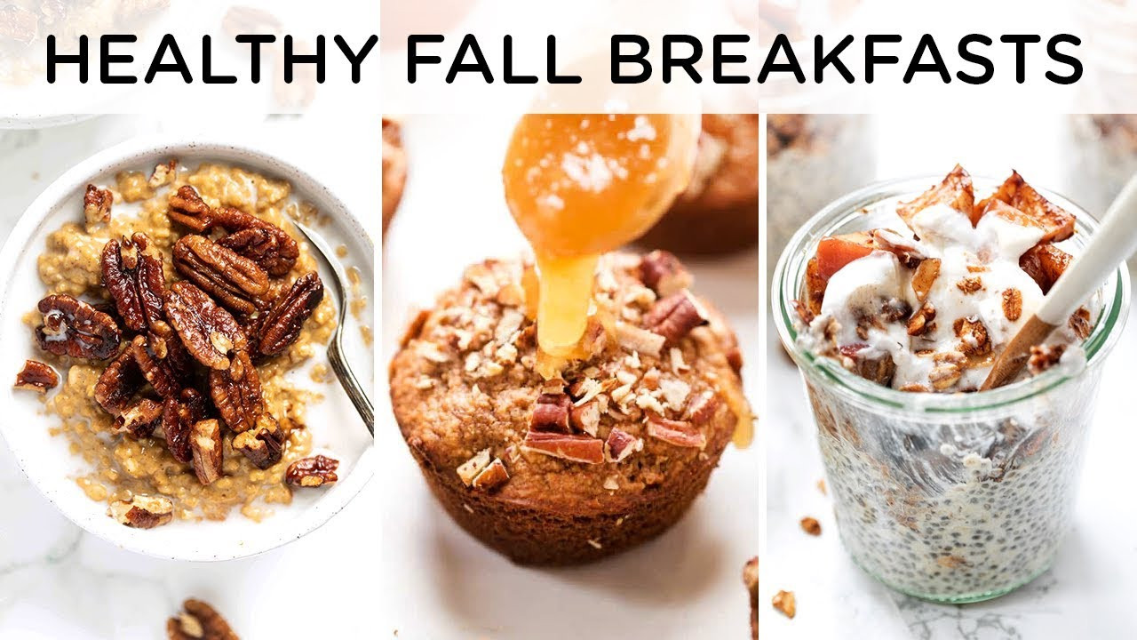 Healthy Fall Breakfast Recipes  HEALTHY FALL BREAKFAST RECIPES ‣‣ quick & easy breakfast