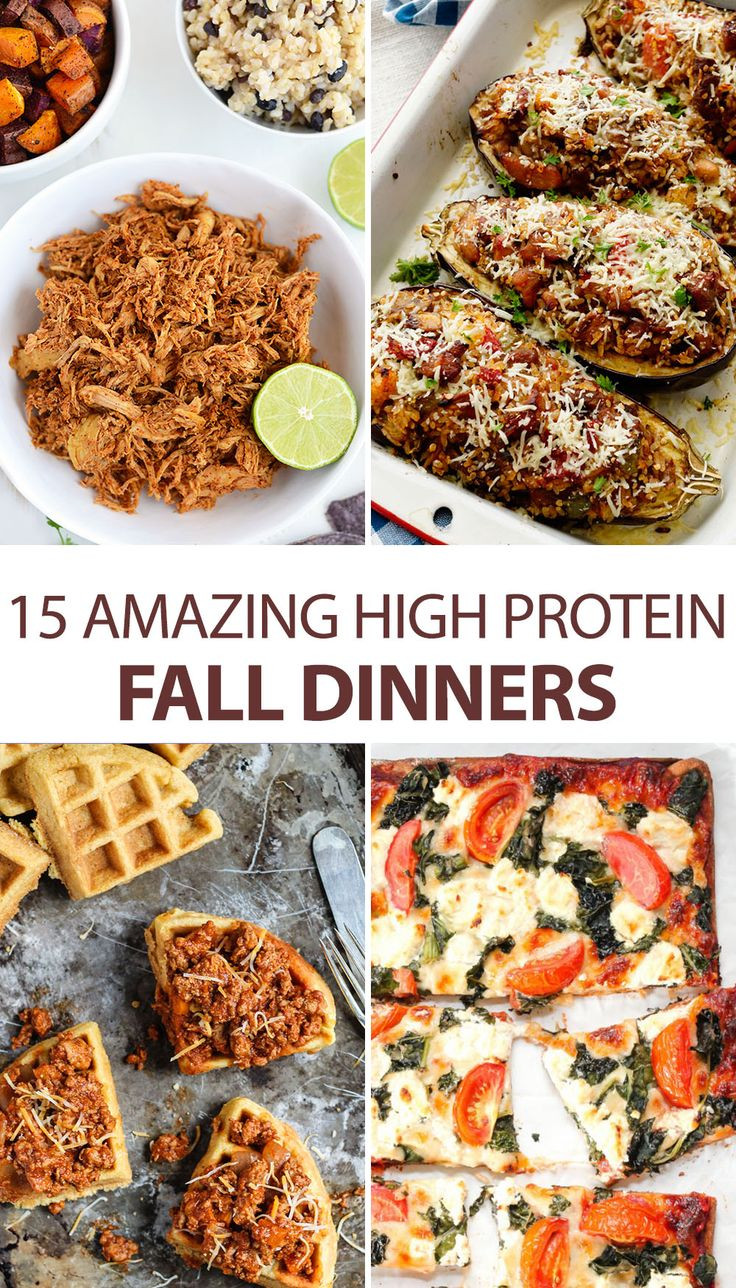 Healthy Fall Dinners  15 Amazing High Protein Fall Dinners