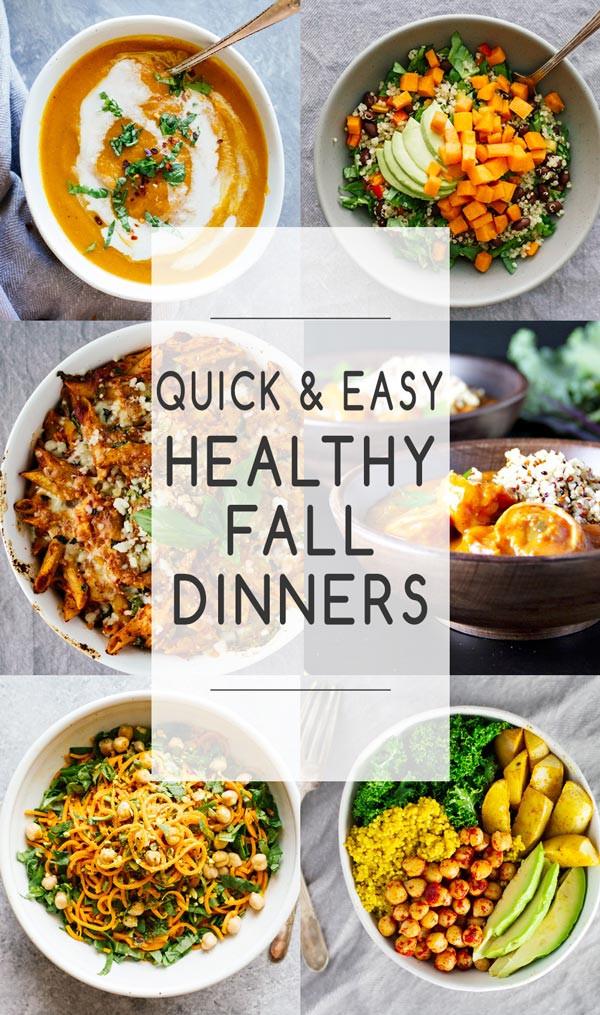Healthy Fall Dinners  Quick & Easy Healthy Fall Dinners Jar Lemons