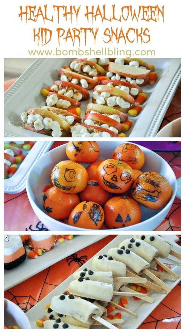 Healthy Halloween Party Snacks  Kid Craft Halloween Party