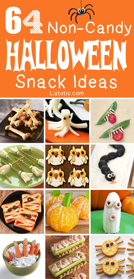 Healthy Halloween Party Snacks  64 Healthy Halloween Snack Ideas For Kids Non Candy