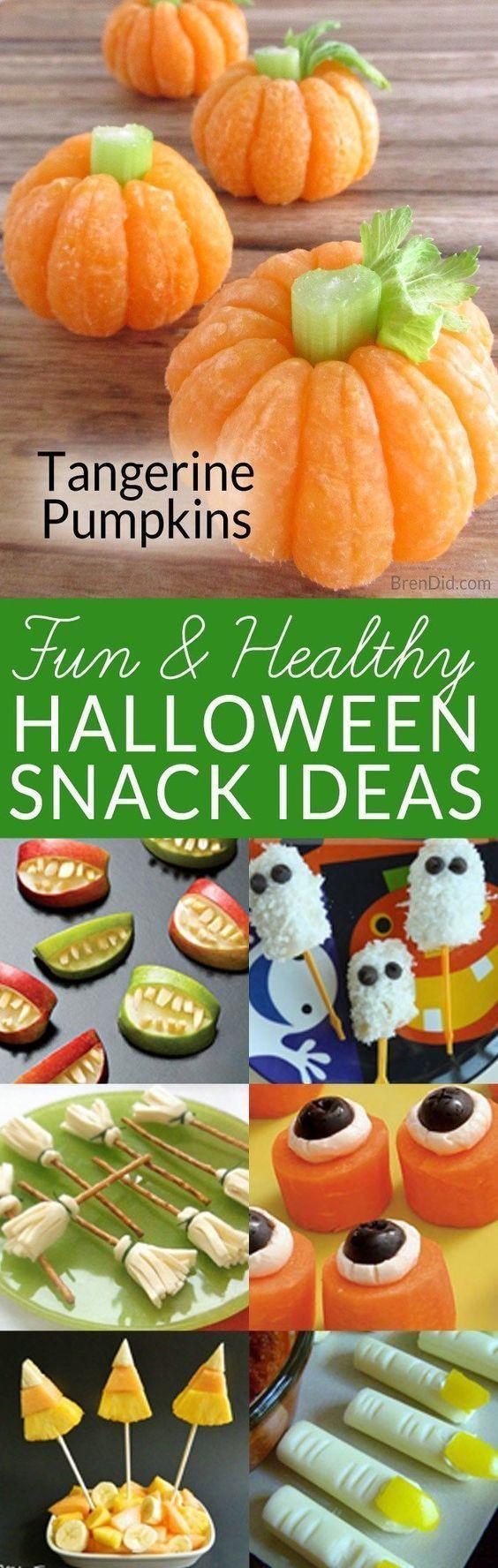 Healthy Halloween Snacks For Kids  Best 25 Healthy halloween snacks ideas on Pinterest