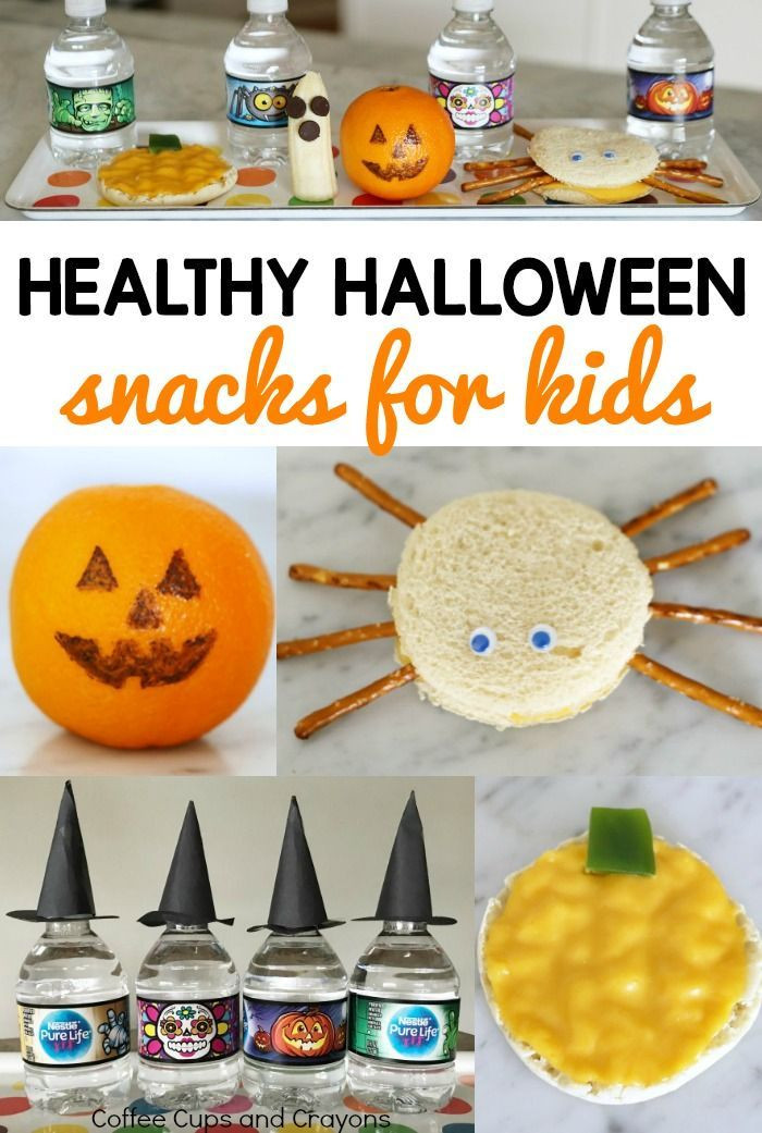 Healthy Halloween Snacks For Kids  best After School Activities & Adventures images on