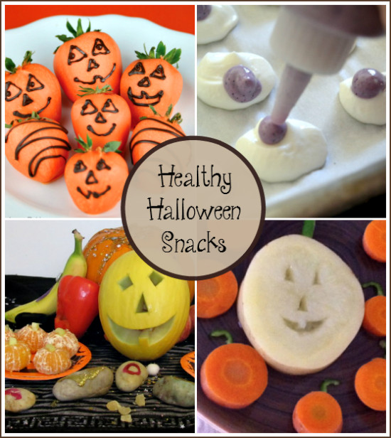 Healthy Halloween Snacks For Kids  Fun Halloween Snacks for Kids Bewitchin Projects Linky