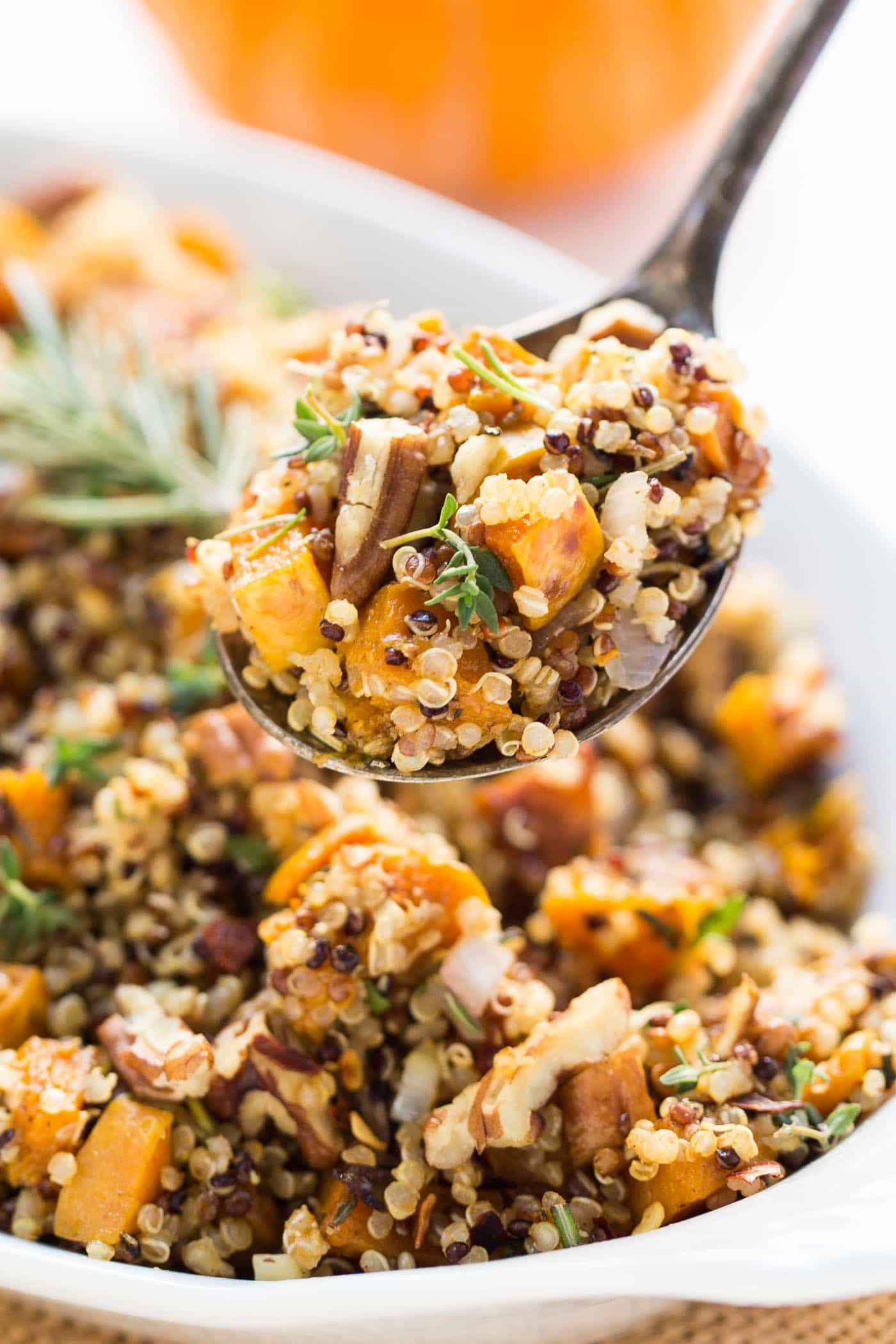 Healthy Stuffing Recipes For Thanksgiving  Easy Quinoa Stuffing Recipe Simply Quinoa