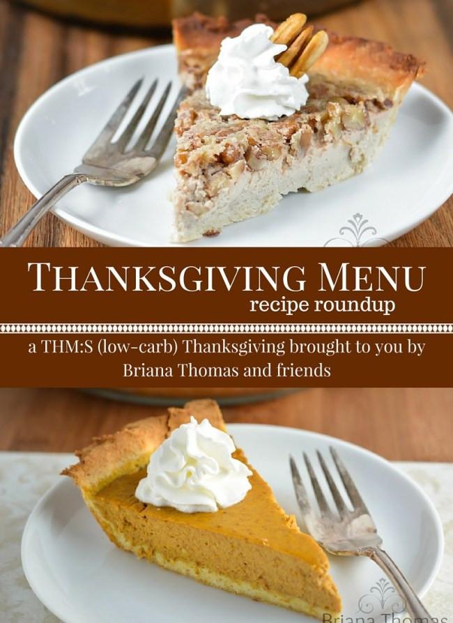 Healthy Thanksgiving Menu  A Trim Healthy Thanksgiving Menu Briana Thomas