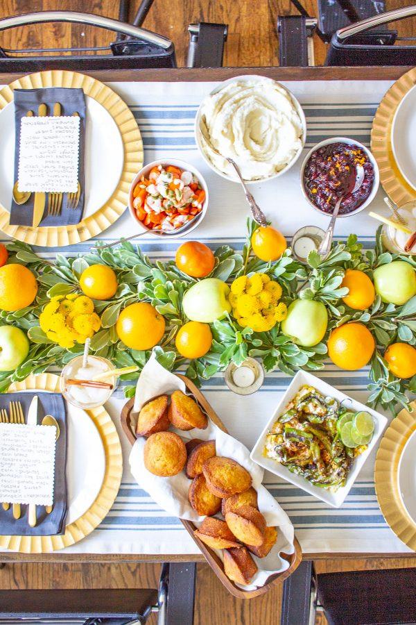 Healthy Thanksgiving Menu  Healthy Thanksgiving Menu thekittchen