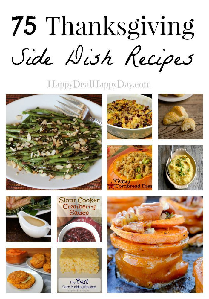 Healthy Thanksgiving Side Dish Recipes  75 Thanksgiving Side Dish Recipes Look No Further For