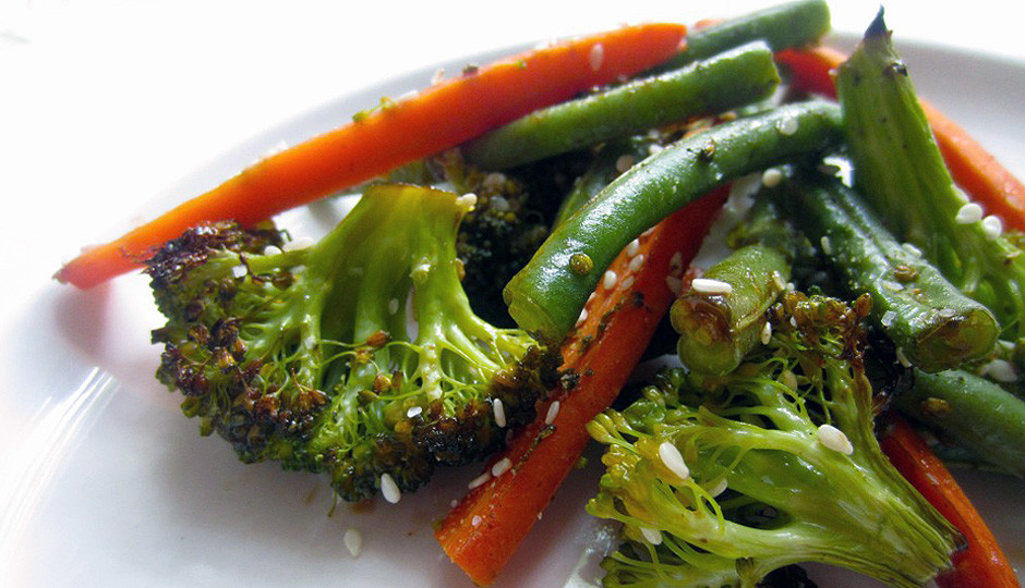 Healthy Thanksgiving Side Dish Recipes  Healthy Thanksgiving Side Dish Roasted Sesame Veggies