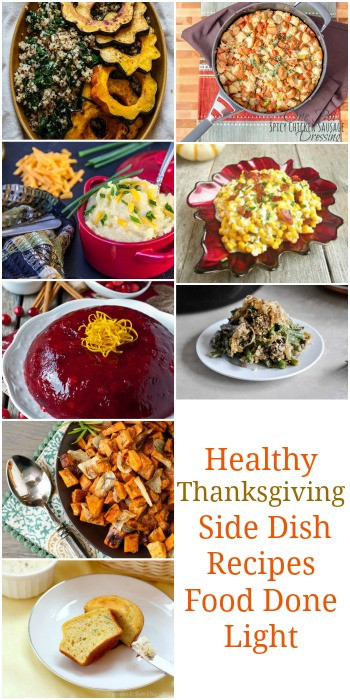 Healthy Thanksgiving Side Dish Recipes  Healthy Thanksgiving Sides & Desserts Recipes