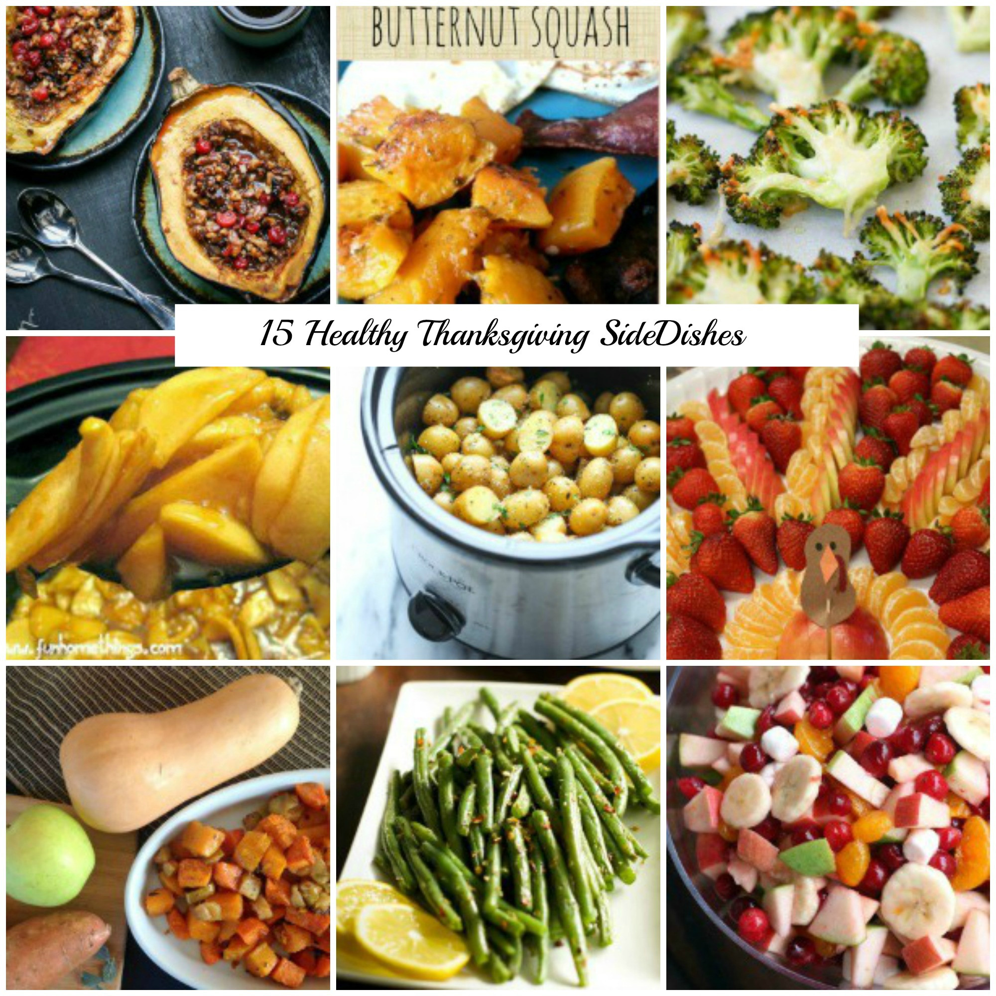 Healthy Thanksgiving Side Dish Recipes  15 Healthy Thanksgiving Side Dish Recipes That are Still