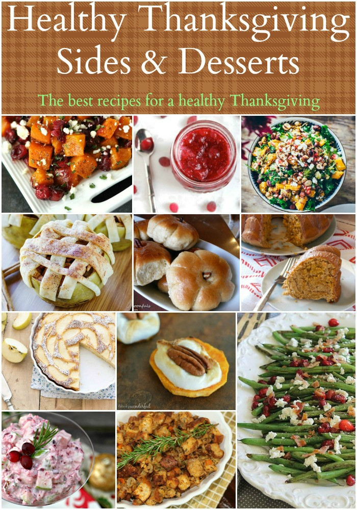 Healthy Thanksgiving Side Dish Recipes  Healthy Thanksgiving Sides & Desserts Recipes Food Done