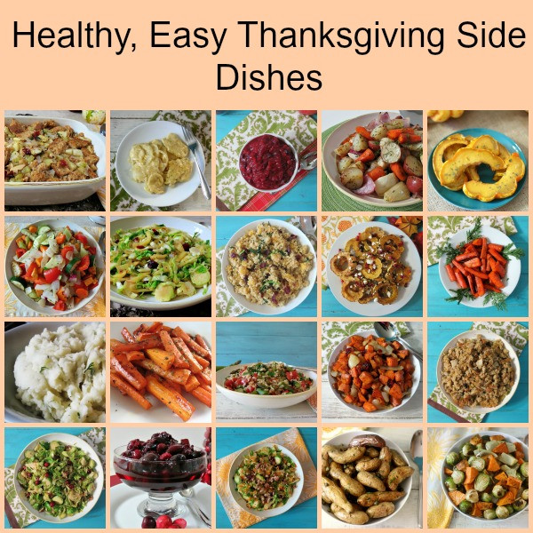 Healthy Thanksgiving Side Dish Recipes  Thanksgiving Side Dishes