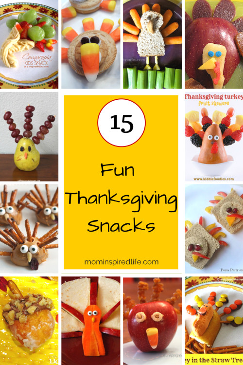 Healthy Thanksgiving Snacks  Thanksgiving Snacks for Kids that are Super Fun