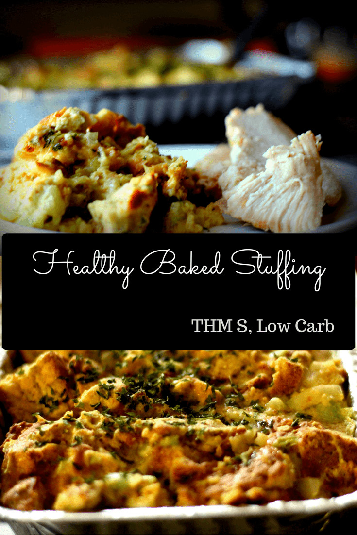 Healthy Thanksgiving Stuffing  Healthy Baked Stuffing
