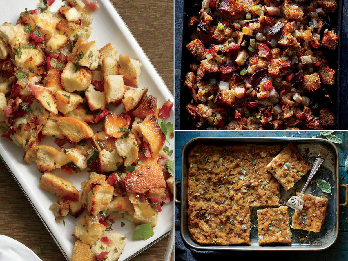 Healthy Thanksgiving Stuffing  Healthy Thanksgiving Menu Recipes and Ideas Cooking Light