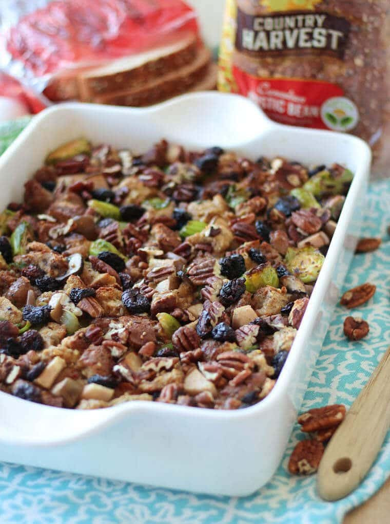 Healthy Thanksgiving Stuffing  Healthy Holiday Stuffing