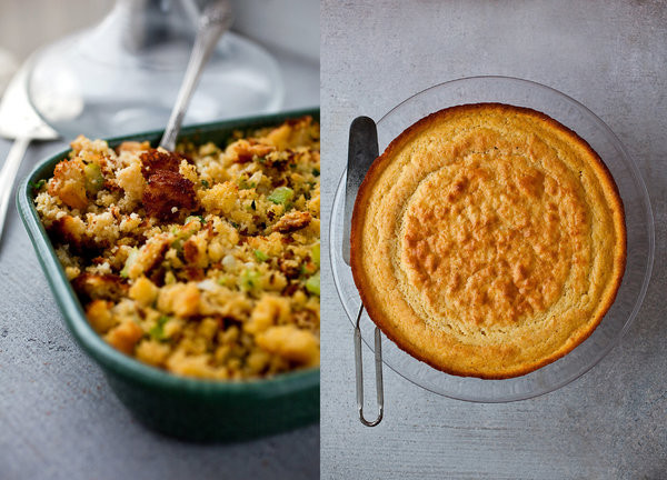 Healthy Thanksgiving Stuffing  Savory Cornbread Stuffing Recipe NYT Cooking