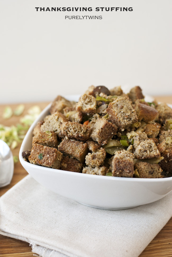 Healthy Thanksgiving Stuffing  The best ever real food Thanksgiving stuffing recipe