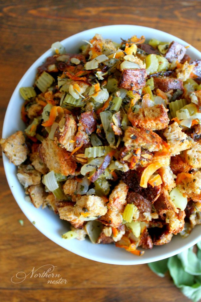 Healthy Thanksgiving Stuffing  Trim Healthy Mama friendly Stuffing