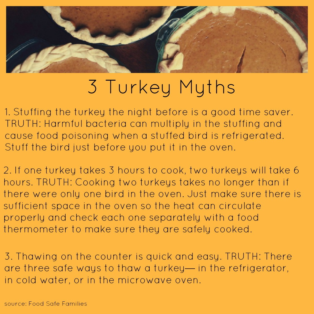 Healthy Thanksgiving Tips  Food Safety Tips for A Happy And Healthy Thanksgiving