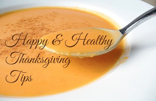Healthy Thanksgiving Tips  Happy & Healthy Thanksgiving Tips