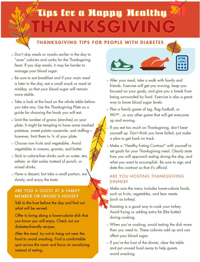 Healthy Thanksgiving Tips  PSJA Nutrition Healthcare Clinic