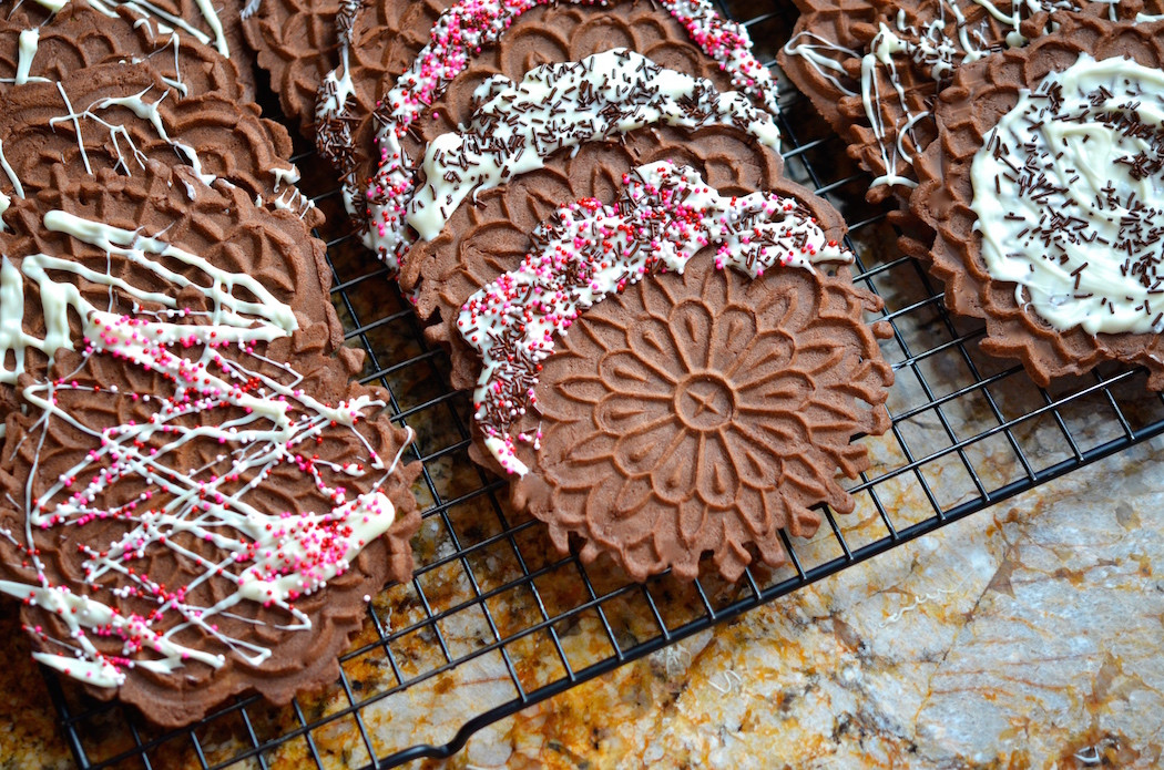 History Of Christmas Cookies  Recipe Pizzelle The Italian Christmas Cookie and Its