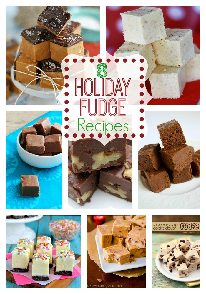 Holiday Fudge Recipes Christmas  8 Holiday Fudge Recipes