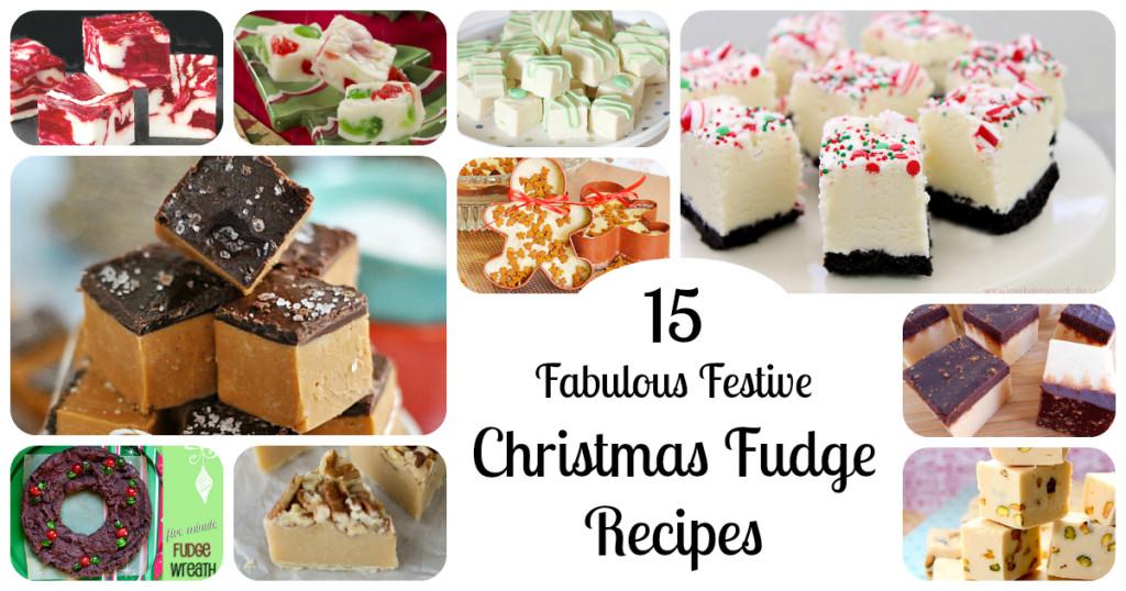 Holiday Fudge Recipes Christmas  Christmas Fudge 15 Festive Holiday Fudge RecipesLetters