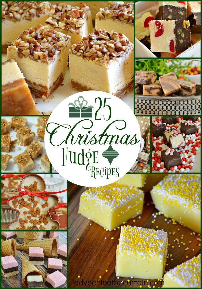 Holiday Fudge Recipes Christmas  25 Christmas Fudge Recipes
